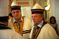 Food judges at the Paprika Festival, Kalocsa, Hungary