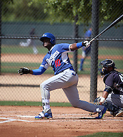 Starling Heredia - Los Angeles Dodgers 2016 extended spring training (Bill Mitchell)