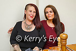 Enjoying the evening the in Bella Bia on Saturday, l to r: Denise Whyte (Tralee) and Carol Whelton.