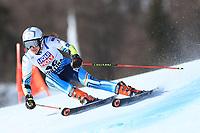 18th February 2021; Cortina d'Ampezzo, Italy; FIS Alpine World Ski Championships  Cortina Women's Giant Slalom; Francesca Barruzi Farriol (ARG)
