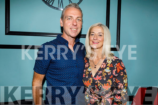 Dermot Crean and Deirdre Walsh from Tralee celebrating their 20th wedding anniversary in Croi on Saturday.