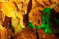 Ha Long, Vietnam - 2007 File Photo -<br /> <br /> Ha Long Bay cave site.<br /> <br /> <br /> <br /> photo : James Wong-  Images Distribution