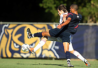 MIAMI, FL - DECEMBER 21, 2012:  Javan Torre of the USA MNT U20 during a closed scrimmage with the Venezuela U20 team, on Friday, December 21, 2012, At the FIU soccer field in Miami.  USA won 4-0.