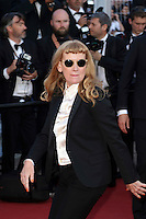 """FRA: """"American Honey"""" Red Carpet- The 69th Annual Cannes Film Festival - Director Andrea Arnold, attend """"American Honey """". Red Carpet during The 69th Annual Cannes Film Festival on May 15, 2016 in Cannes, France."""