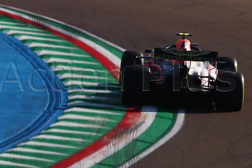 31st October 2020, Imola, Italy; FIA Formula 1 Grand Prix Emilia Romagna, Qualifying;  23 Alexander Albon THA, Aston Martin Red Bull Racing