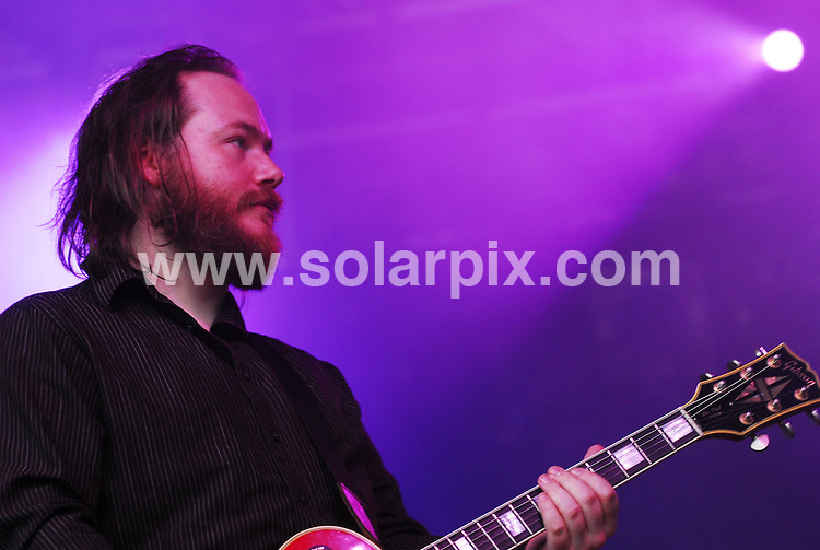 **ALL ROUND PICTURES FROM SOLARPIX.COM**.**WORLDWIDE SYNDICATION RIGHTS**.Day 1 of the Connect Music Festival, held in the grounds of Inveraray Castle, situated on the banks of one of Loch Fyne, Argyll, Scotland. Friday 31st August 2007..This pic: Aereogramme..JOB REF: 4608 GRK    DATE: 31_08_2007.**MUST CREDIT SOLARPIX.COM OR DOUBLE FEE WILL BE CHARGED* *UNDER NO CIRCUMSTANCES IS THIS IMAGE TO BE REPRODUCED FOR ANY ONLINE EDITION WITHOUT PRIOR PERMISSION*