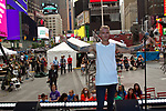 April Rose Gabrielli and Kulick NYC Times Square Performance
