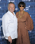 Wolfgang Puck and Gelila Assefa at The Montblanc and UNICEF Pre-Oscar Brunch to Celebrate Their Limited Edition Collection with Special Guest Hilary Swank held at Hotel Bel Air in Beverly Hills, California on February 23,2013                                                                   Copyright 2013 Hollywood Press Agency