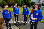 Castleisland Community College Students who were the in the National finals in the Foróigh Nefty Competition. Front right: Keva Aherne. Back l to r: Ciara Shanahan, Ella Killington and Eilish Enright.