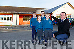 Paul Horan Principal of Holy Family NS Rathmore who is appealing for help in stopping leaks in the roof of the school
