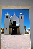 St. Jerome (San Geronimo) Catholic Chapel at Taos Pueblo, New mexico