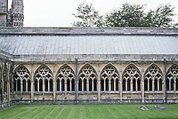 Lincoln: Lincoln Cathedral--Cloister. Photo '90.