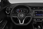 Car pictures of steering wheel view of a 2019 Nissan Kicks SV 5 Door SUV
