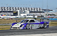 The #60 Ford Riley of John Pew, Oswaldo Negri Jr., AJ Allmendinger and Justin Wilson races to victory in the Rolex 24 at Daytona, Daytona International Speedway, Daytona Beach, FL, January 2011.  (Photo by Brian Cleary/www.bcpix.com)