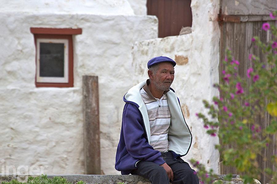 Fisherman at Kassiesbaai Fishing Village outside Arniston, South Africa