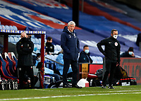 2nd January 2021; Selhurst Park, London, England; English Premier League Football, Crystal Palace versus Sheffield United; Crystal Palace Manager Roy Hodgson looks on from the touchline
