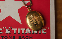 BNPS.co.uk (01202 558833)<br /> Pic: ZacharyCulpin/BNPS<br /> <br /> A gold locket the tragic violinist on the Titanic gave to his sweetheart before he boarded the ill-fated liner has emerged for sale for £20,000.<br /> <br /> Maria Robinson kept hold of the treasured item that contained a photograph of fiance Wallace Hartley.
