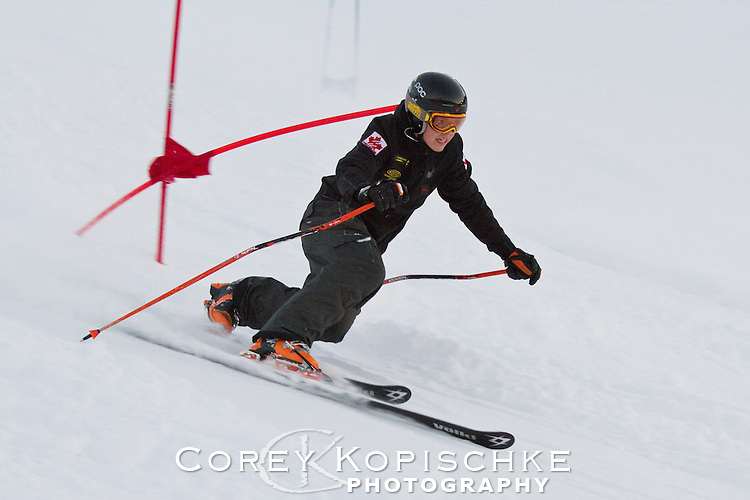Telemark dual slalom
