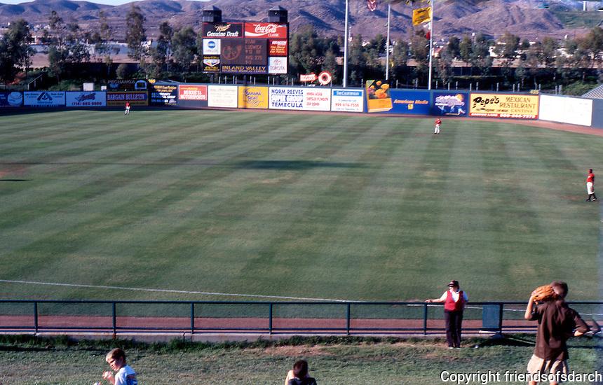 Ballparks: Lake Elsinore Diamond. Panorama 2.