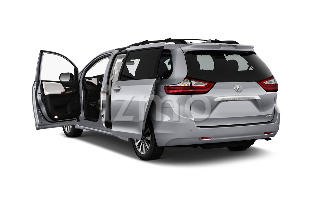 Car images close up view of a 2020 Toyota Sienna Limited FWD 5 Door Mini Van doors