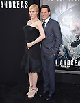 Alice Evans and Ioan Gruffud attends The Warner Bros. Pictures World Premiere of San Andreas held at the TCL Chinese Theatre  in Hollywood, California on May 26,2015                                                                               © 2015 Hollywood Press Agency