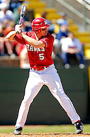 21 April 2007: University of Hartford Hawks' Erik Price, a Junior from Cameron Park, CA, in action during a double-header against the University of Vermont Catamounts at Historic Centennial Field, in Burlington, Vermont...Mandatory Photo Credit: Ed Wolfstein Photo