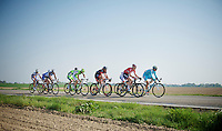 leading breakaway group that snuck out early and would stay ahead for most of the day. At some point they would get 15 minutes ahead of the peloton.<br /> <br /> Amstel Gold Race 2014