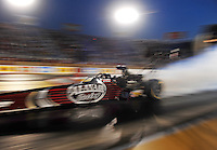 Jul, 8, 2011; Joliet, IL, USA: NHRA top fuel dragster driver Larry Dixon during qualifying for the Route 66 Nationals at Route 66 Raceway. Mandatory Credit: Mark J. Rebilas-