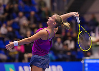 December 20, 2014, Rotterdam, Topsport Centrum, Lotto NK Tennis, Richel Hogenkamp (NED)<br /> Photo: Tennisimages/Henk Koster