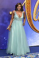 """Kellie Bryan<br /> arriving for the """"Aladdin"""" premiere at the Odeon Luxe, Leicester Square, London<br /> <br /> ©Ash Knotek  D3500  09/05/2019"""