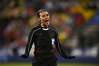 Columbus, Ohio - Thursday March 01, 2018: Melissa Borjas during a 2018 SheBelieves Cup match between the women's national teams of the United States (USA) and Germany (GER) at MAPFRE Stadium.