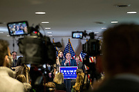 Former Mayor Rudy Giuliani (Republican of New York, New York) conducts a press conference at Republican National Committee headquarters in Washington, DC on Thursday, November 19, 2020.  He is accompanied by Trump Campaign Senior Legal Advisor Jenna Ellis and other attorneys.<br /> Credit: Rod Lamkey / CNP /MediaPunch