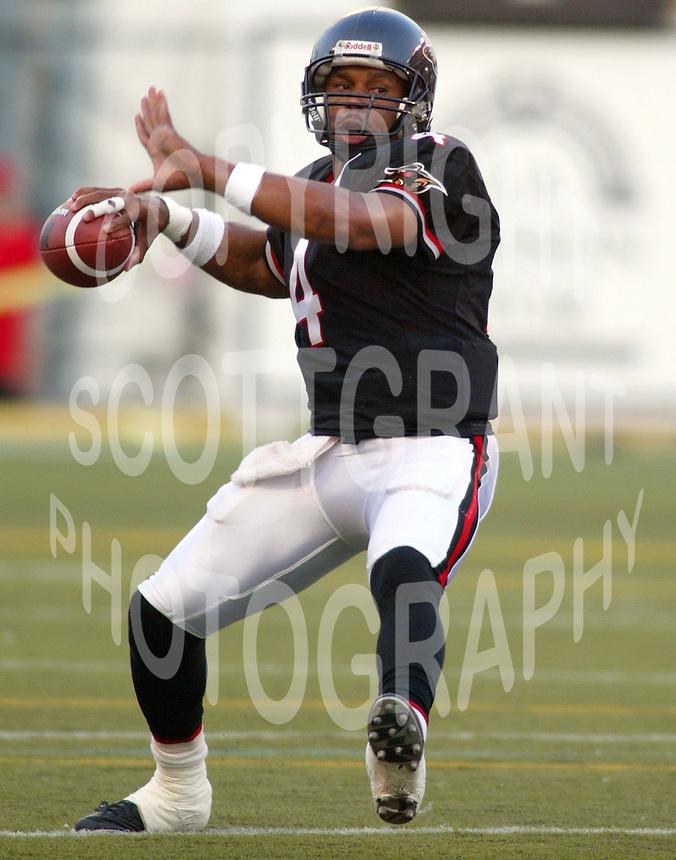 Kerry Joseph Ottawa Renegades quarterback, Copyright Scott Grant