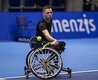 Rotterdam, Netherlands, December 13, 2016, Topsportcentrum, Lotto NK Tennis,  Ruben Spaargaren (NED) <br /> Photo: Tennisimages/Henk Koster