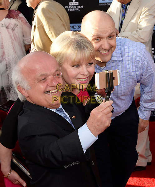 """HOLLYWOOD, CA: Rusty Goffe, Julie Dawn Cole, Paris Themmen at The 50th Anniversary Screening of """"In the Heat of the Night"""" Opening Night Gala of the 2017 TCM Classic Film Festival at the TCL Chinese Theater in Hollywood, California on April 6, 2017 <br /> CAP/MPI/KOS<br /> ©KOS/MPI/Capital Pictures"""