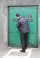an employee locked the door to the storage of Glenlivet whiskey distillery near Ballindalloch, Scotland on 2015/06/08. Foto EXPA/ JFK/Insidefoto