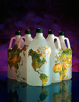illustration of global water supply issues.