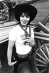 Joan Jett 1979 during filming of 'Were All Crazee Now'..© Chris Walter..