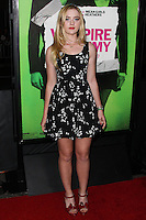 """LOS ANGELES, CA - FEBRUARY 04: Kathryn Newton at the Los Angeles Premiere Of The Weinstein Company's """"Vampire Academy"""" held at Regal Cinemas L.A. Live on February 4, 2014 in Los Angeles, California. (Photo by Xavier Collin/Celebrity Monitor)"""