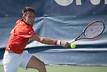 July  31, 2017:  Nicolas Mahut (FRA) defeated Thomas Fabbiano (ITA) 6-1, 7-6, at the Citi Open being played at Rock Creek Park Tennis Center in Washington, DC.  ©Leslie Billman/Tennisclix/CSM