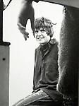 Wendy Osbourne and Adrian Swinstead. Tenby Wales 1967 ish. On a motor boat.
