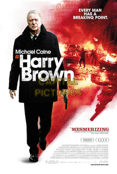 ONE SHEET POSTER ART.in Harry Brown .*Filmstill - Editorial Use Only*.CAP/FB.Supplied by Capital Pictures.