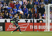FRISCO ,TX - March 29, 2016: The U.S. Men's U-23 National team go up against Colombia in 2016 Olympic Qualifying playoff action at Toyota Stadium.