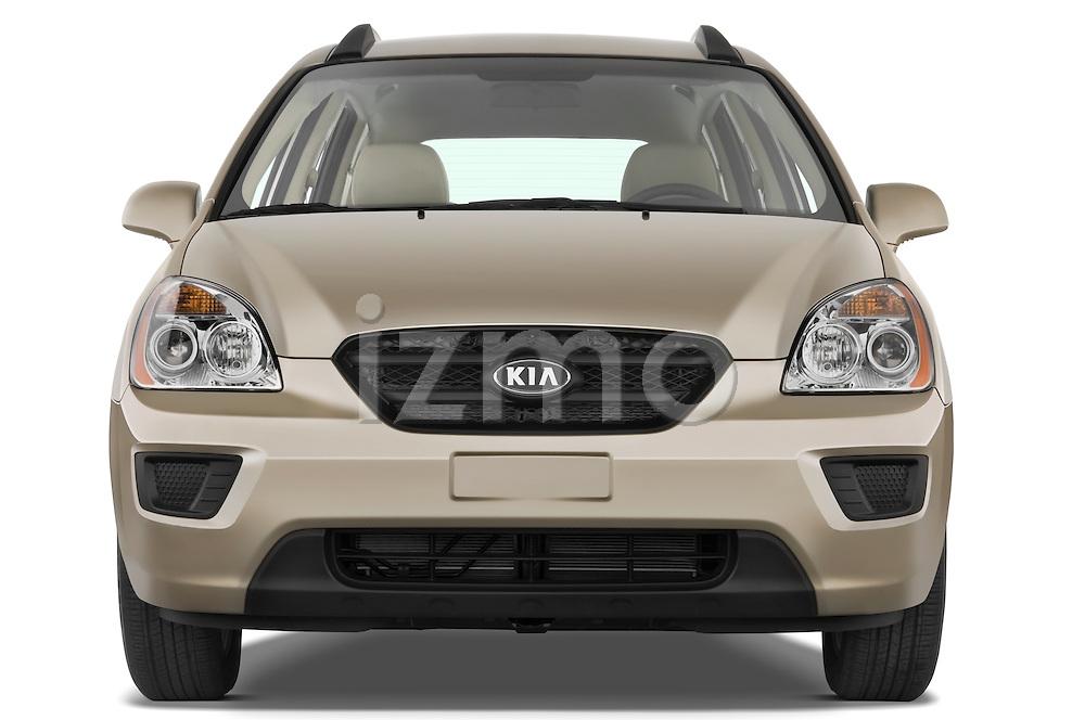 Straight front view of a 2008 Kia Rondo EX V6