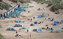 25/05/15<br /> <br /> Tourists and surfers flock to enjoy the weather at Saunton Sands in North Devon on bank holiday Monday.<br /> <br /> All Rights Reserved - F Stop Press.  www.fstoppress.com. Tel: +44 (0)1335 418629 +44(0)7765 242650
