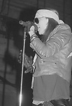 GUNS N ROSES - Axl Rose - Performing Live at Perkins Palace, Pasadena, Ca 12/28/1987 - Photo Credit : David Plastik