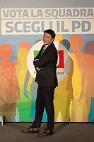 "27.02.2018 - Democratic Party Event: ""Gentiloni Renzi Zingaretti: Vote for the Team, Choose the PD"""