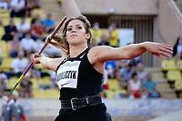 9th July 2021, Monaco, France; Diamond League Athletics, Herculis meeting, Monaco;  Maria Andrejczyk (Pol) womens javelin