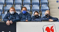 Ball girls pictured during a female soccer game between  Racing Genk Ladies and SV Zulte-Waregem on the 18 th and last matchday before the play offs of the 2020 - 2021 season of Belgian Scooore Womens Super League , saturday 27 th of March 2021  in Genk , Belgium . PHOTO SPORTPIX.BE | SPP | JILL DELSAUX