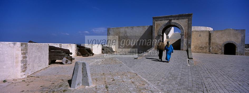 Afrique/Maghreb/Maroc/El-Jadida: Bastion de l'ange de la citadelle portugaise
